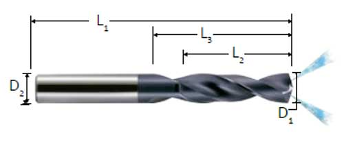 HPT 30757 Thread Forming High Performance Taps 10-24 Size Bright Finish Bottoming Style DIN Length High-Speed Steel H6 Pitch Diameter